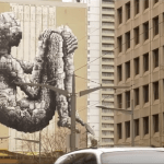 See Behind the Scenes in Restoring Banksy in Downtown Toronto