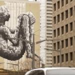 See Behind the Scenes in restoring Banksy in downtown Toronto